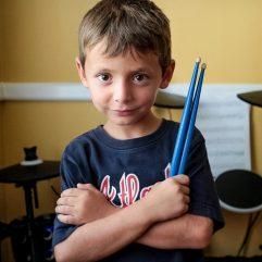 Drum lessons for kids in Atlanta
